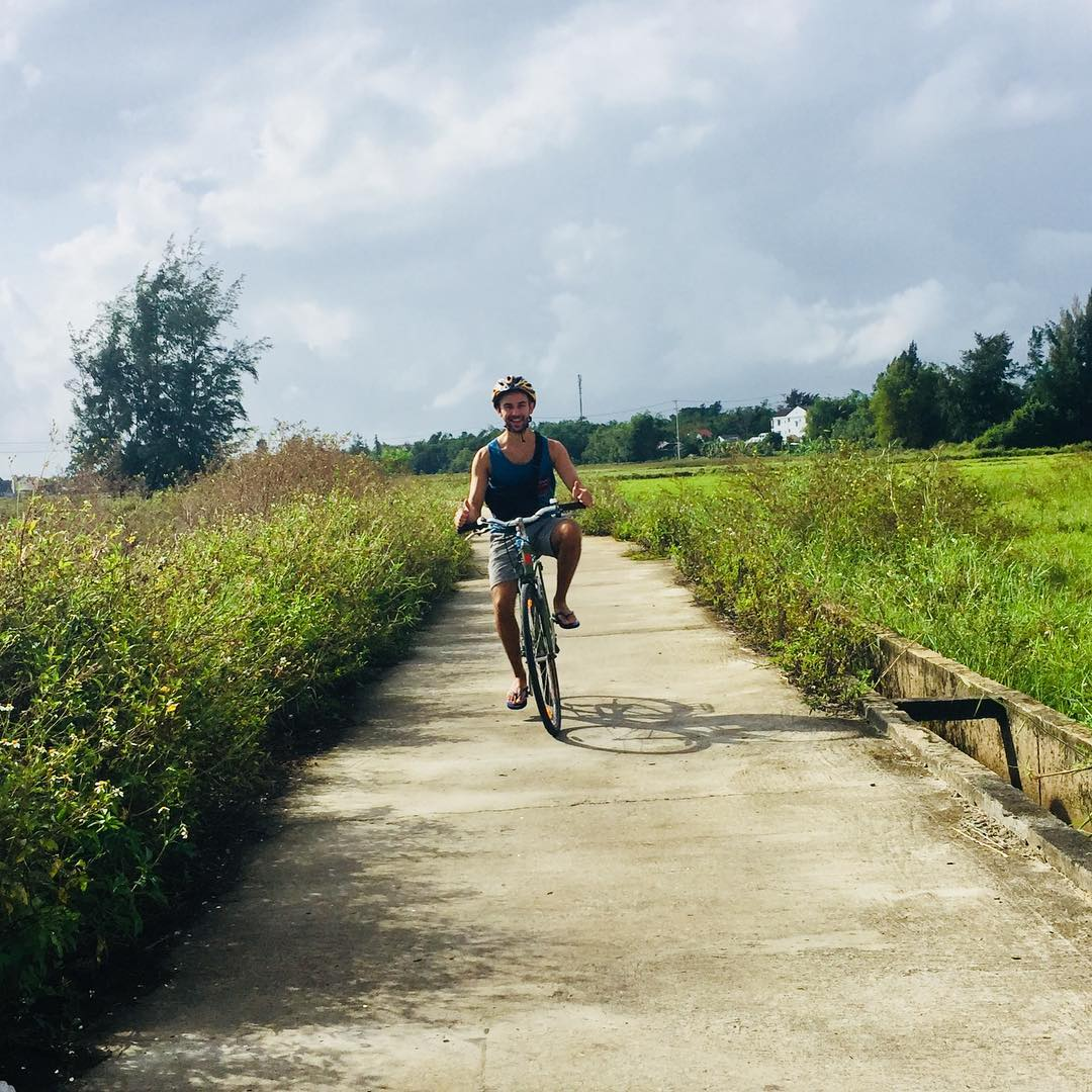 Biking around Hoi An is a fun thing to do in Hoi An